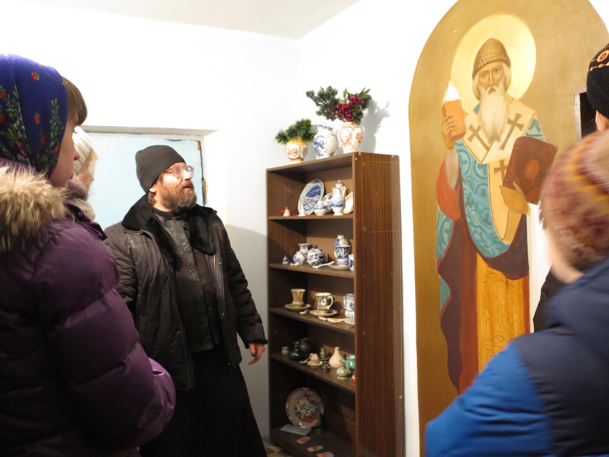 День православной молодежи на приходе Богоявленского храма города Коломны